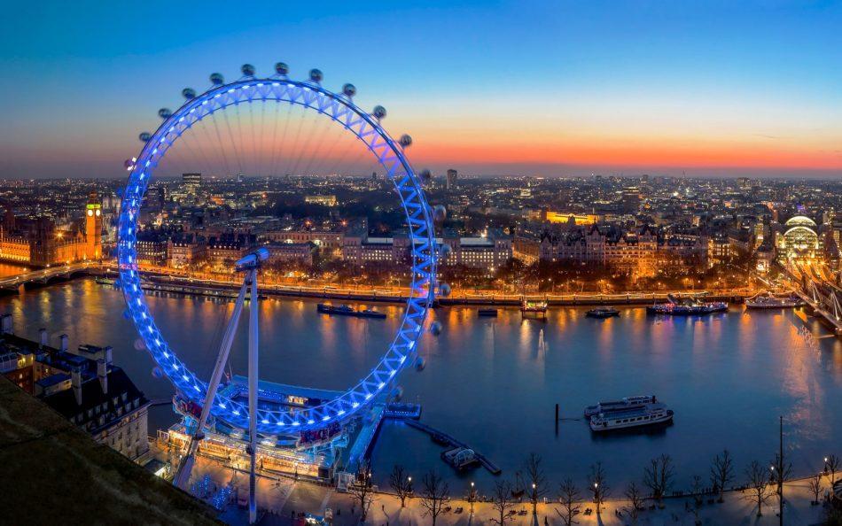 фото Лондон Ай - колесо обозрения