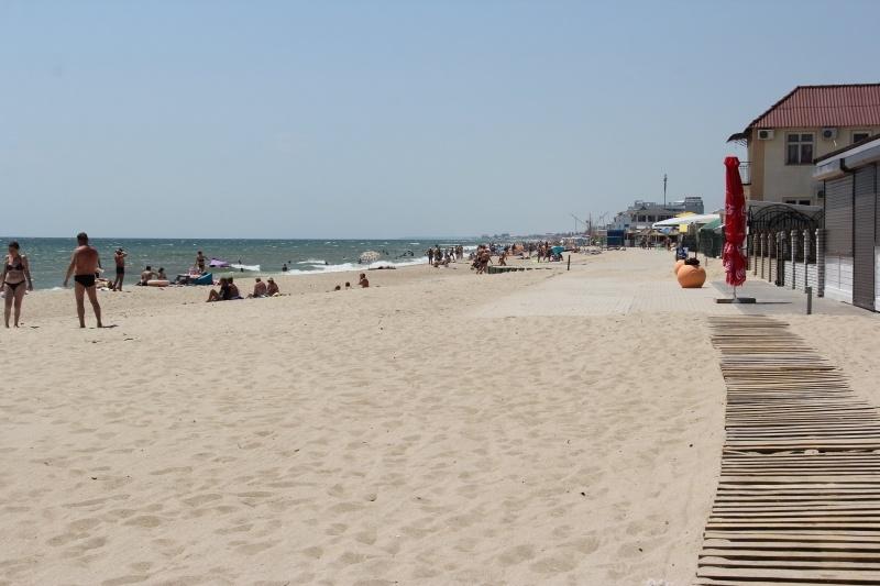 фото пляж, тур на отдых в Затоке