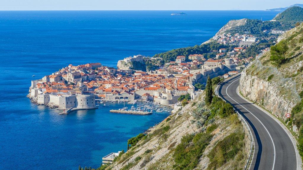 фото красивые дороги в Европе, Хорватия