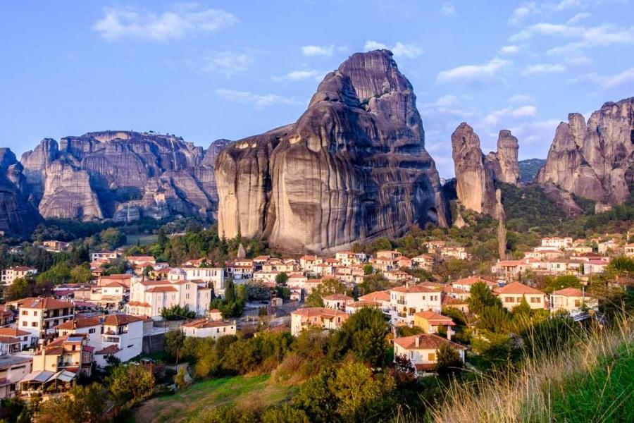фото деревня Кастраки, Греция