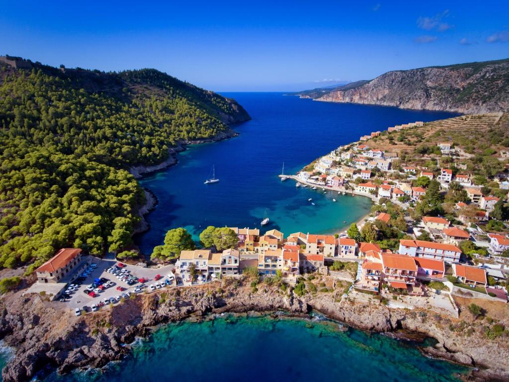 фото поселение Асос, Греция