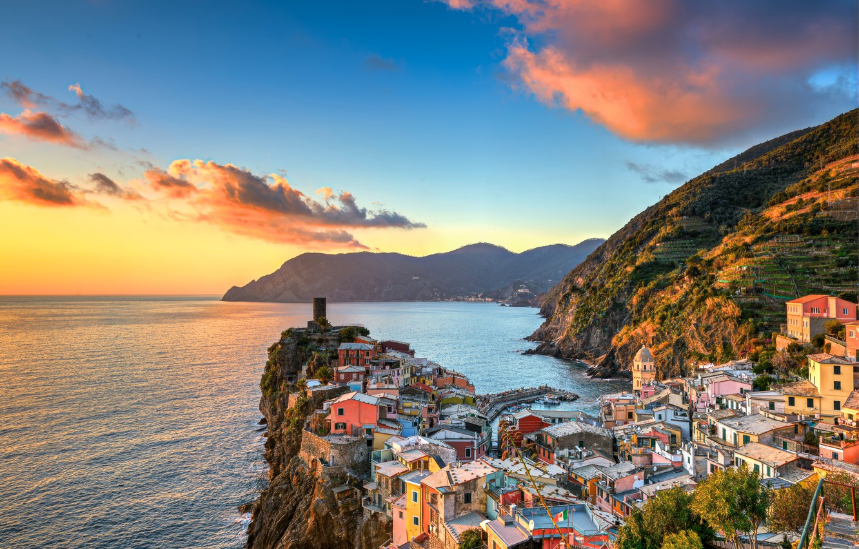 фото город Вернацца, Италия