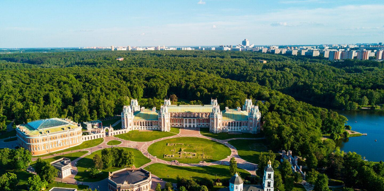 фото Царицыно, тур в Москву